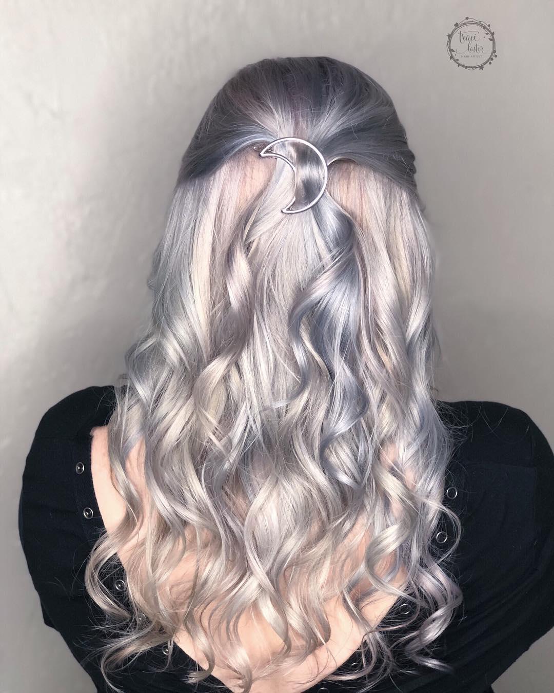 Цвет волос металлик фото 9