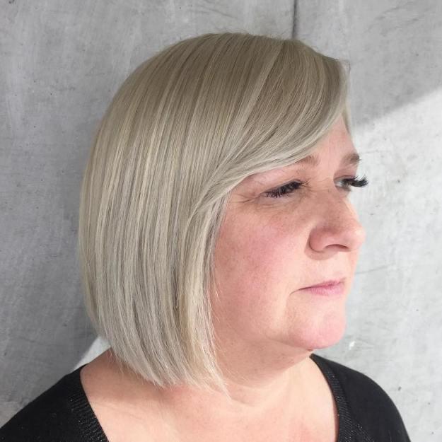 причёски для круглой формы лица фото 10