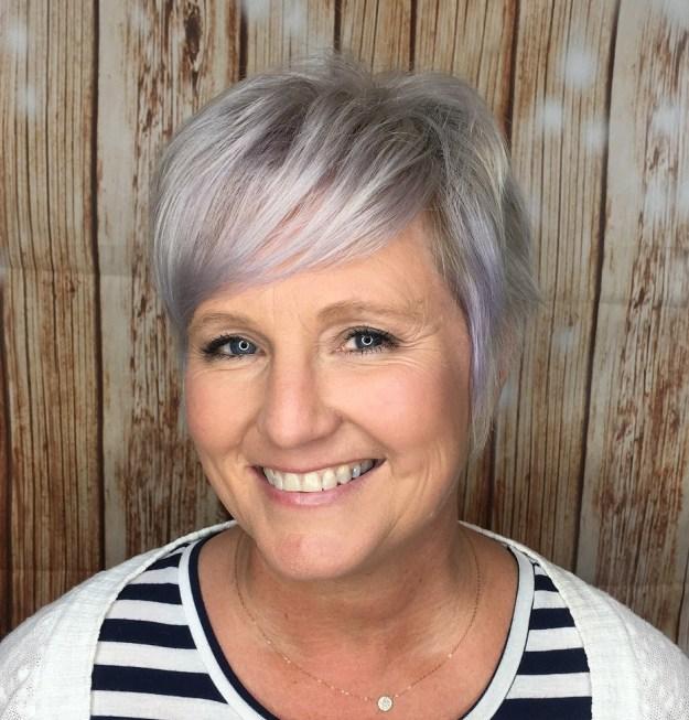 причёски для круглой формы лица фото 9