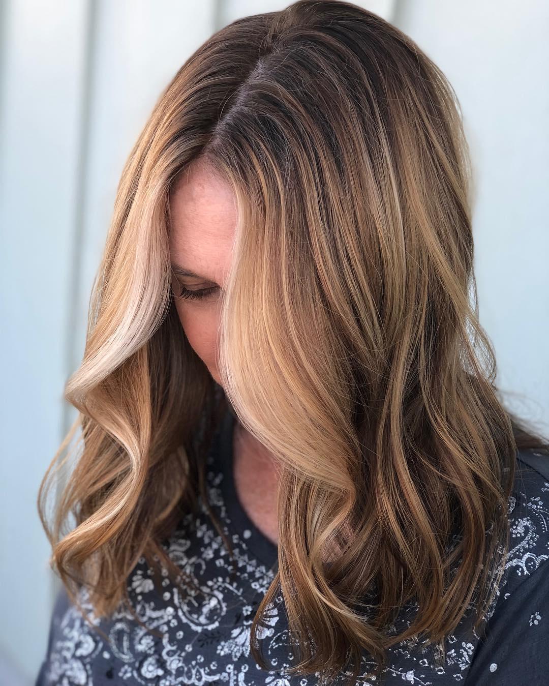популярные цвета волос 2019 года фото 10