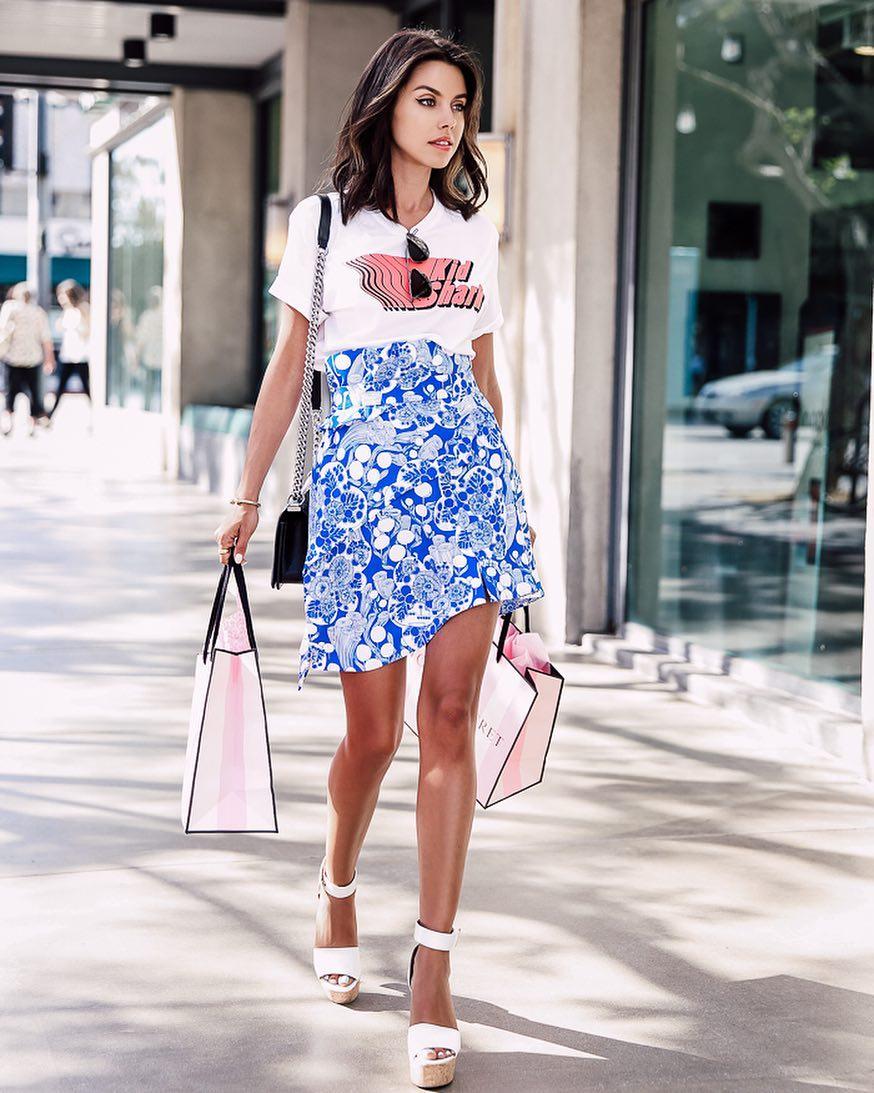 Высокая юбка фото 12