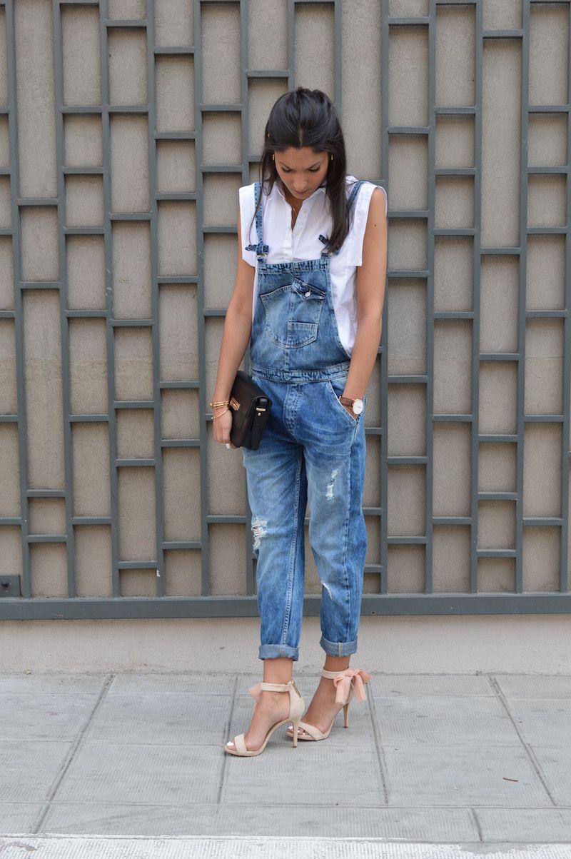 Летние джинсовые комбинезоны 2019 фото 6