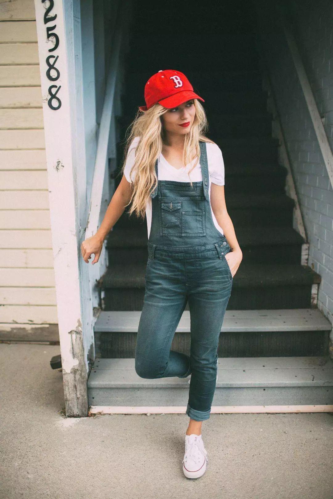 Летние джинсовые комбинезоны 2019 фото 15