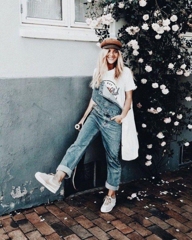 Летние джинсовые комбинезоны 2019 фото 14