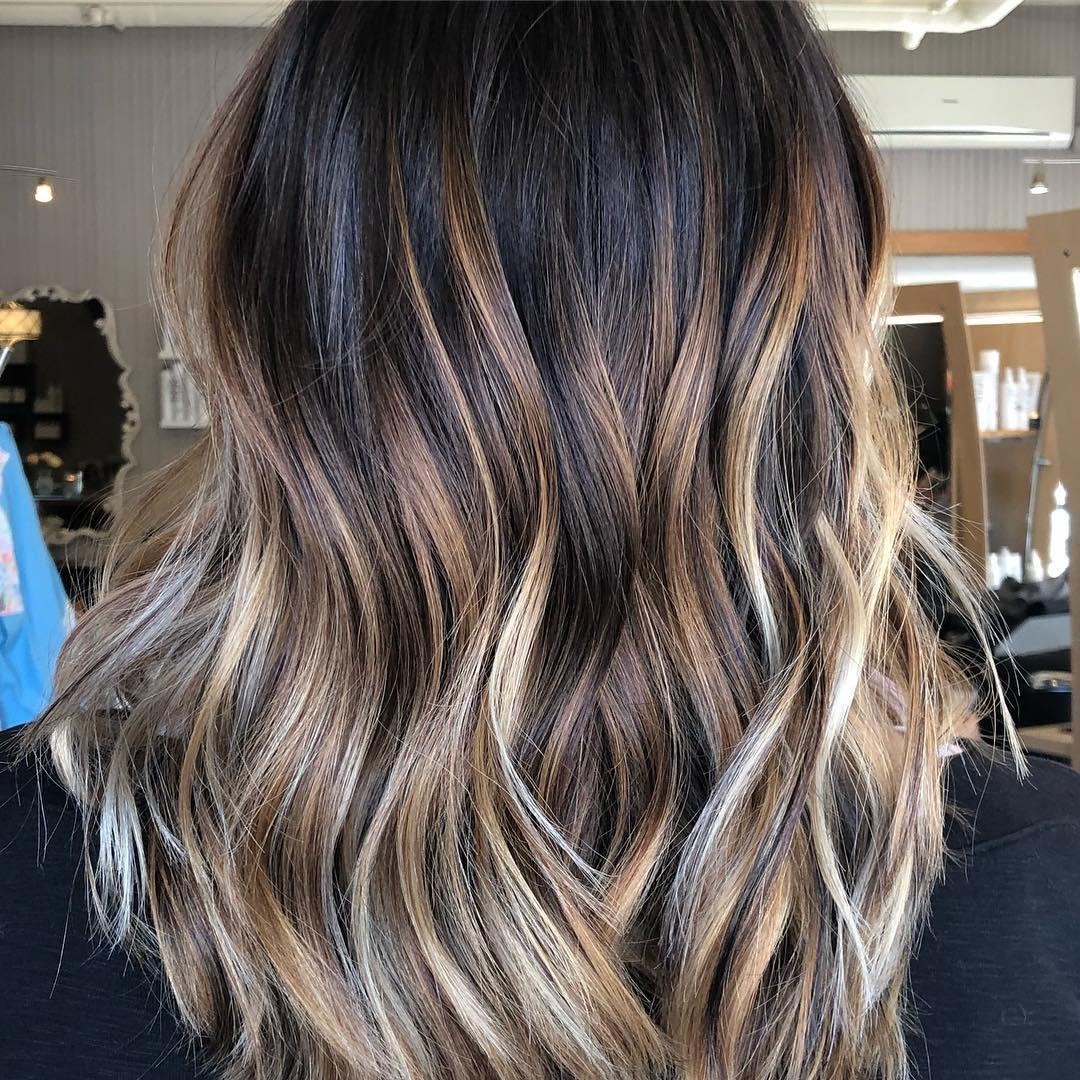 Каштановый цвет волос фото 7