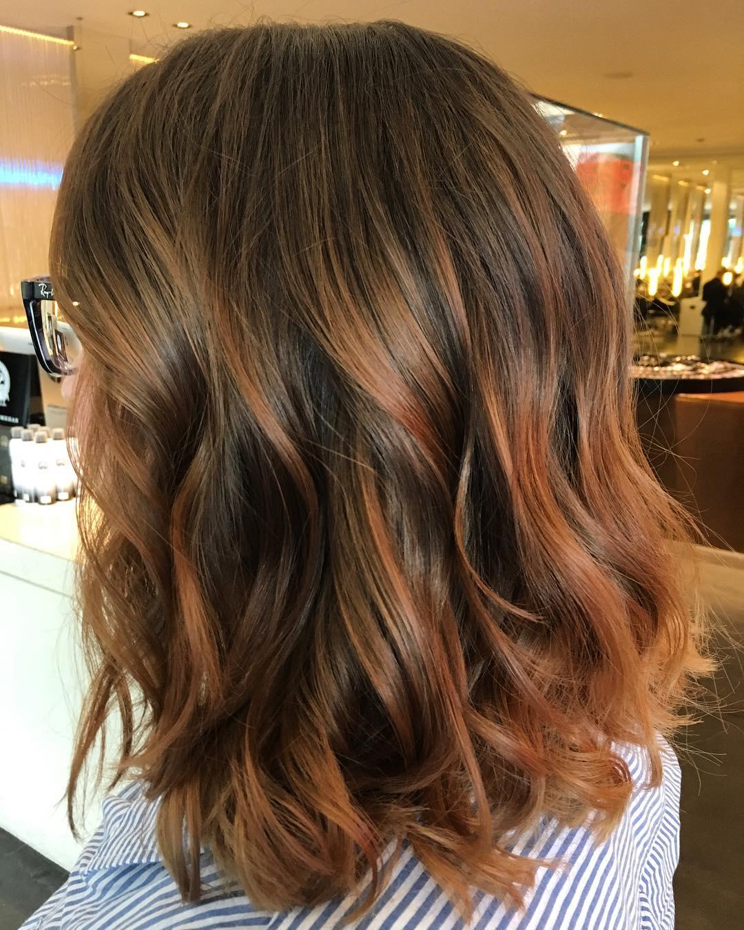 Каштановый цвет волос фото 11