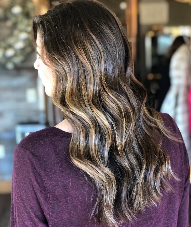Каштановый цвет волос фото 10