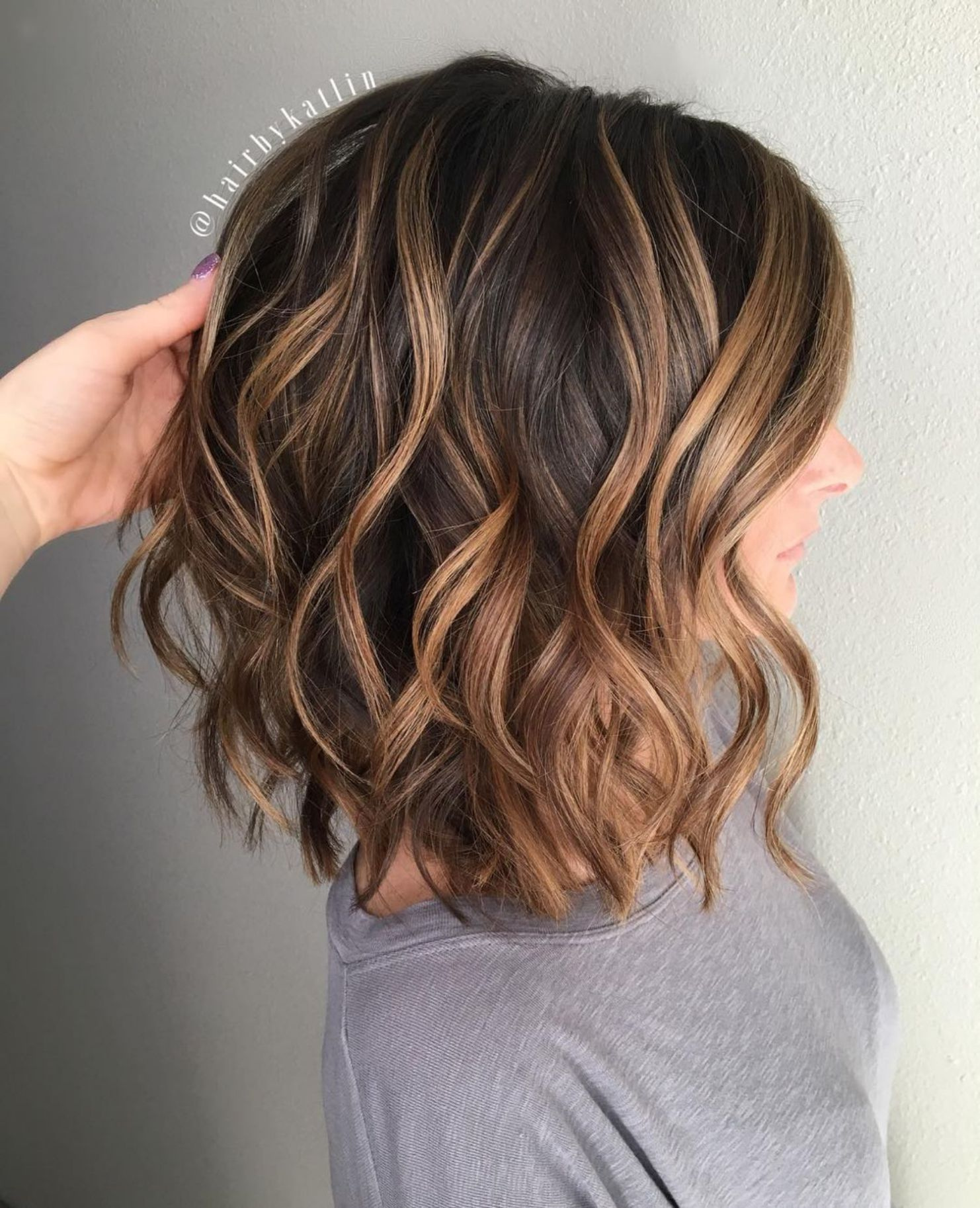 Каштановый цвет волос фото 12