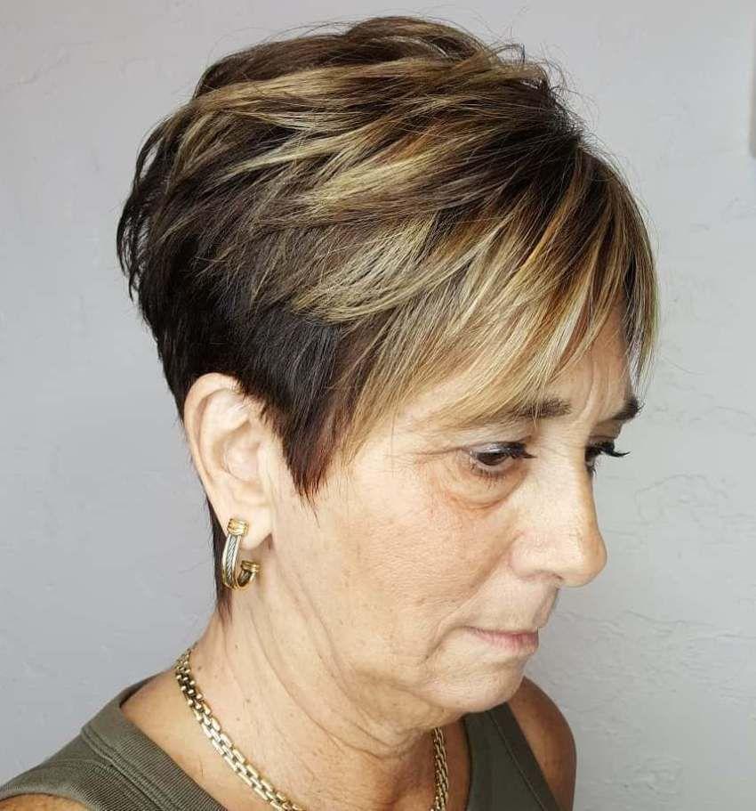 короткие стрижки для тонких волос фото 6