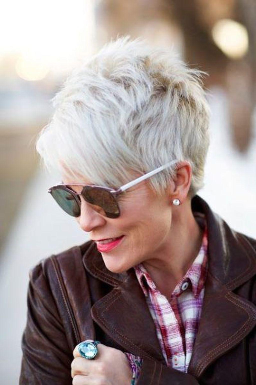 короткие стрижки для тонких волос фото 7