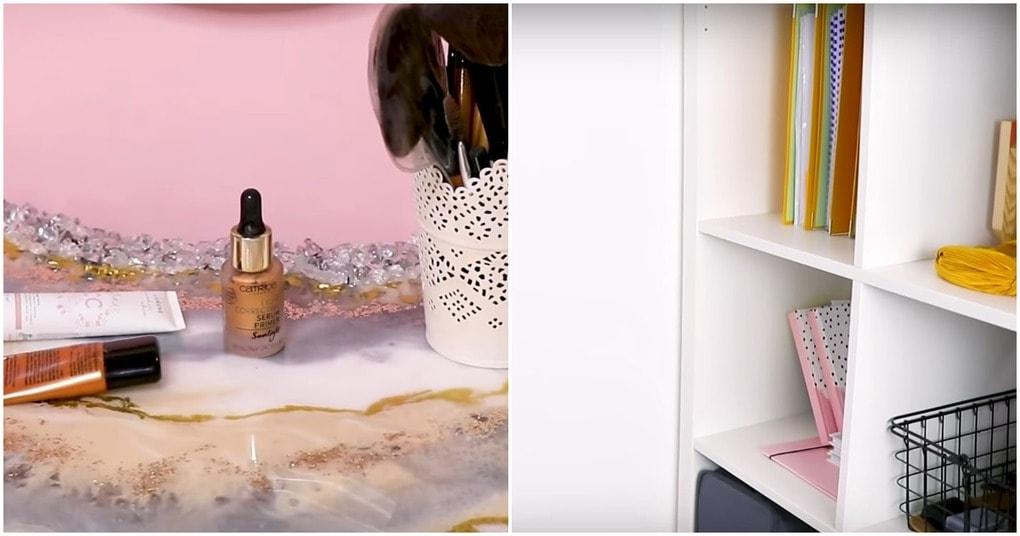 neobychnoe preobrazhenie obychnoj steny v makijazhnuju zonu