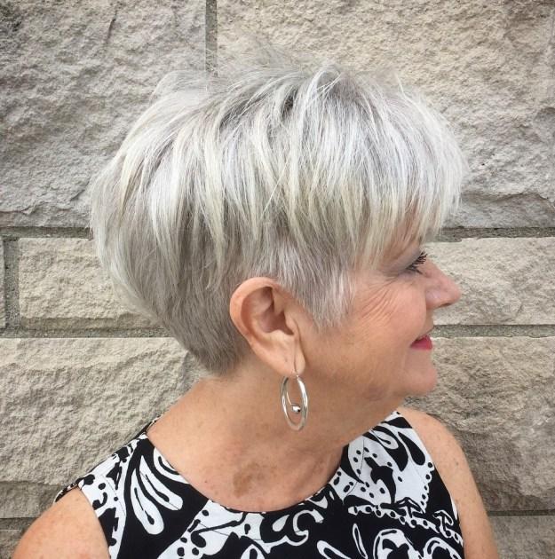 стрижки для женщин старше 60 лет фото 3