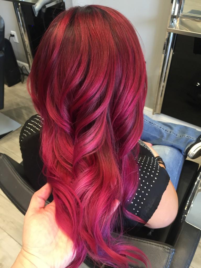 тенденции окрашивания волос 2019 года фото 7