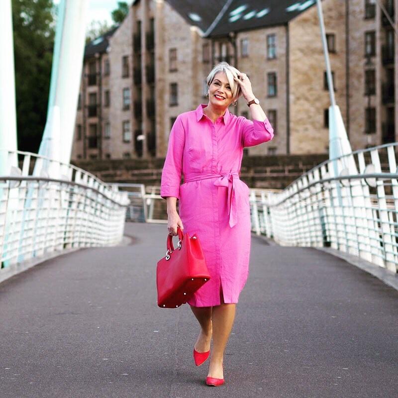 с чем носить платье летом женщинам после 40-50 лет фото 5