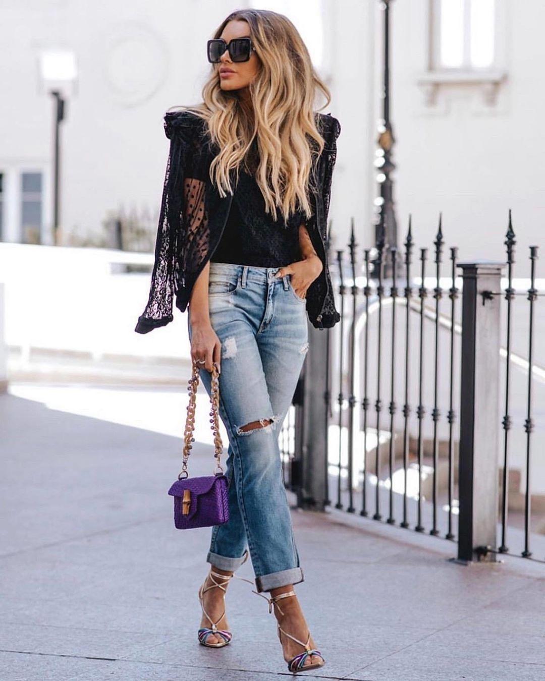 прямые джинсы фото 7