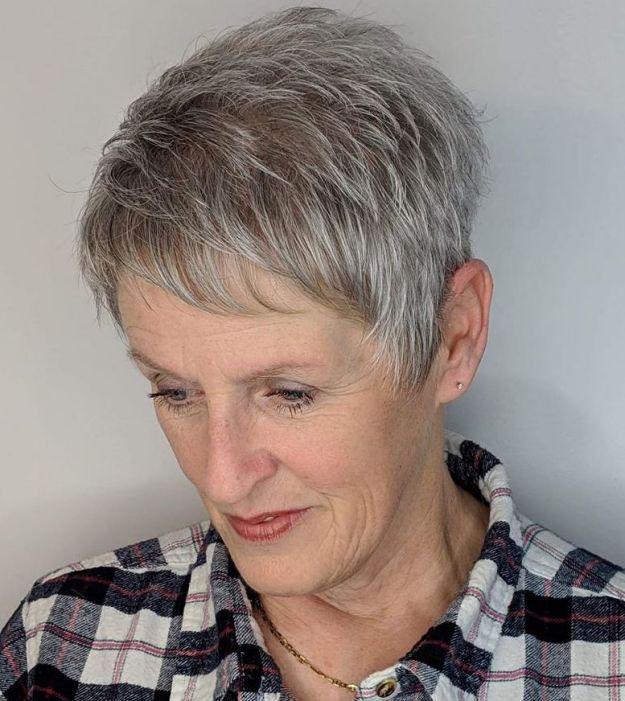 стрижки для женщин старше 60 лет фото 7