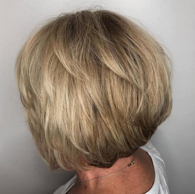 стрижки для женщин старше 60 лет фото 5