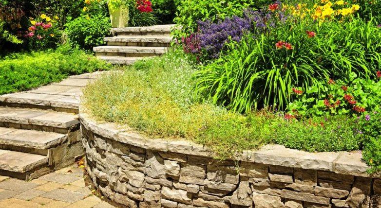 Оформление пространства садового участка