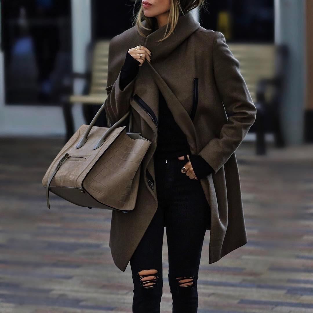 модные луки осень-зима 2019-2020 фото 13