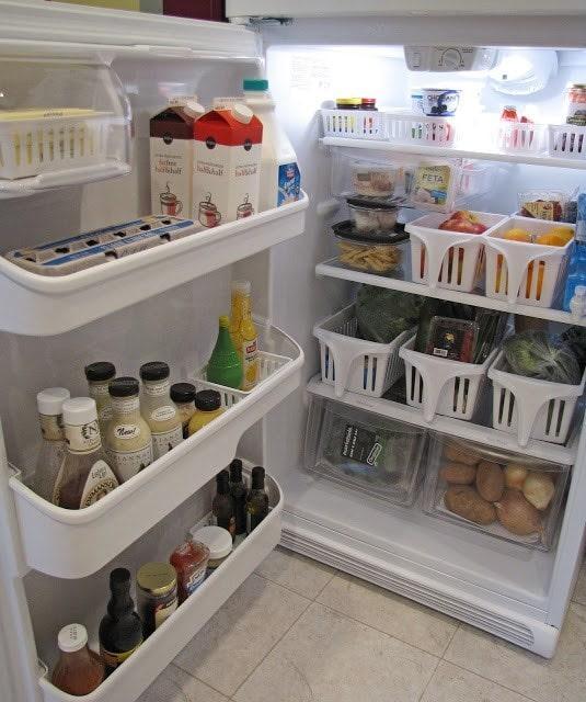 9 способов сохранить порядок в холодильнике, о которых Вы должны знать