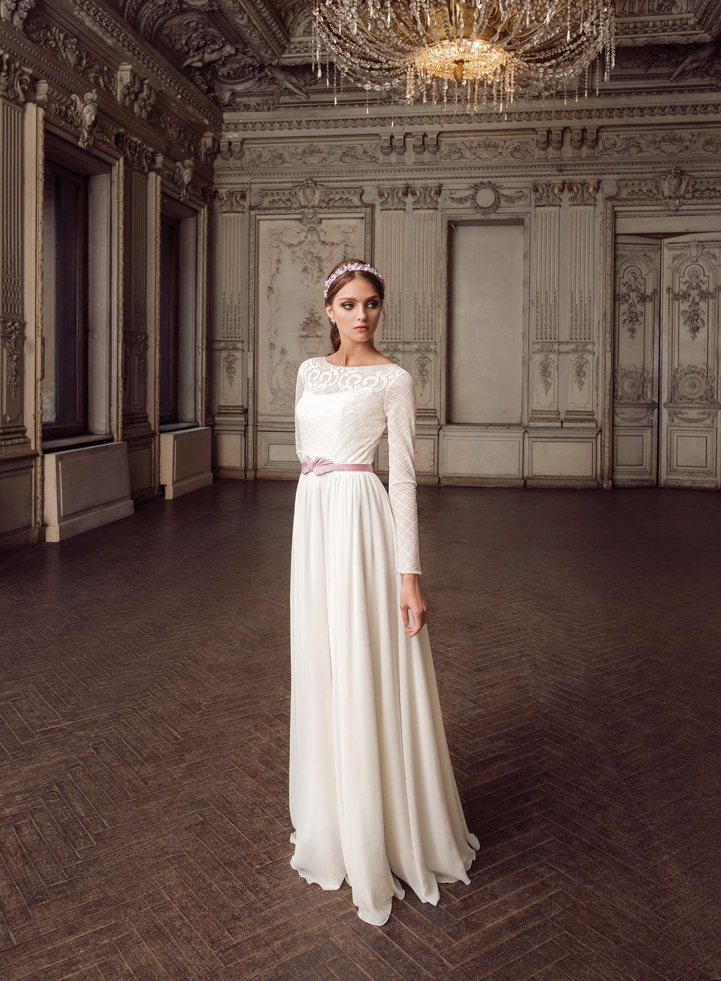 свадебные платья осень-зима фото 1