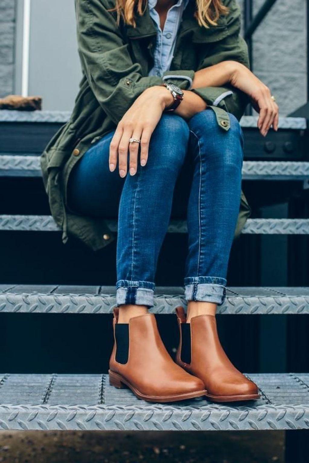 Женские ботинки фото 7