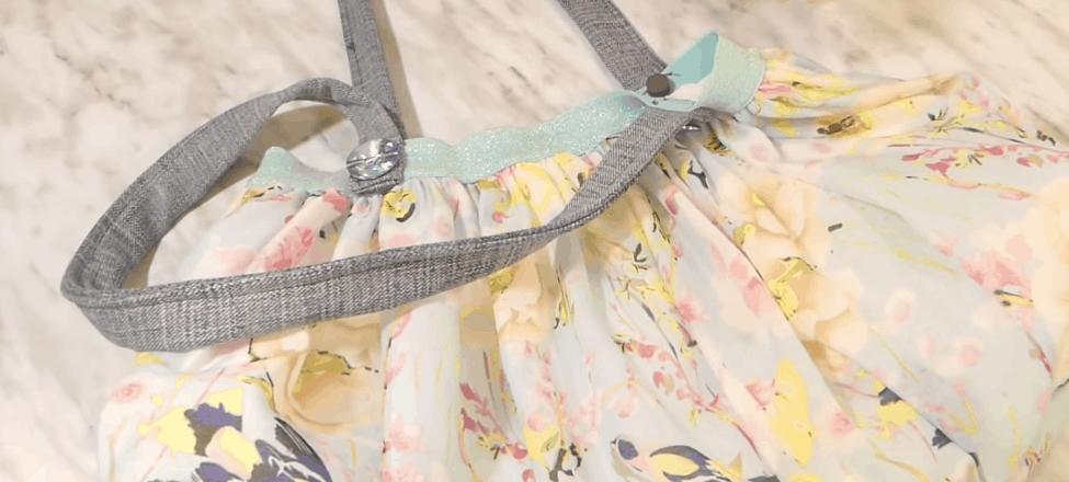 Неожиданный способ повторного использования простой юбки