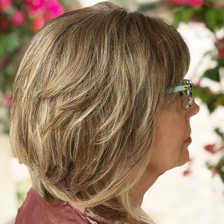 Стрижки после 50 лет на тонкие волосы фото 6
