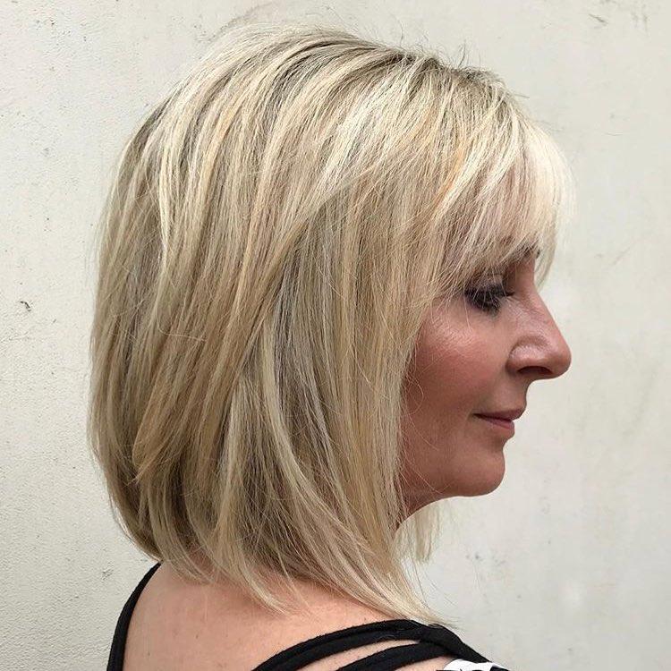 Стрижки после 50 лет на тонкие волосы фото 11