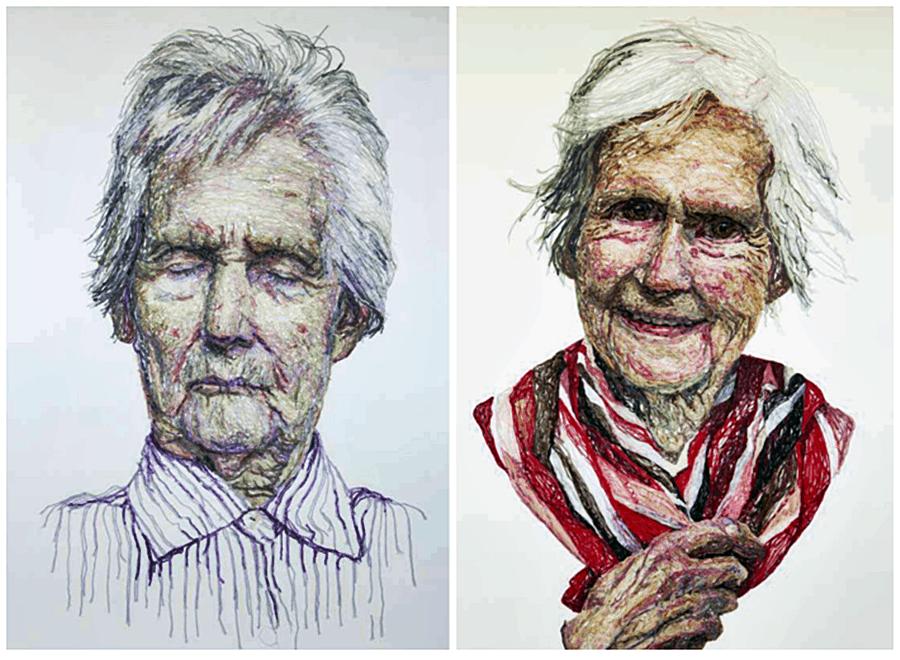 невероятные вышитые картины талантливой художницы