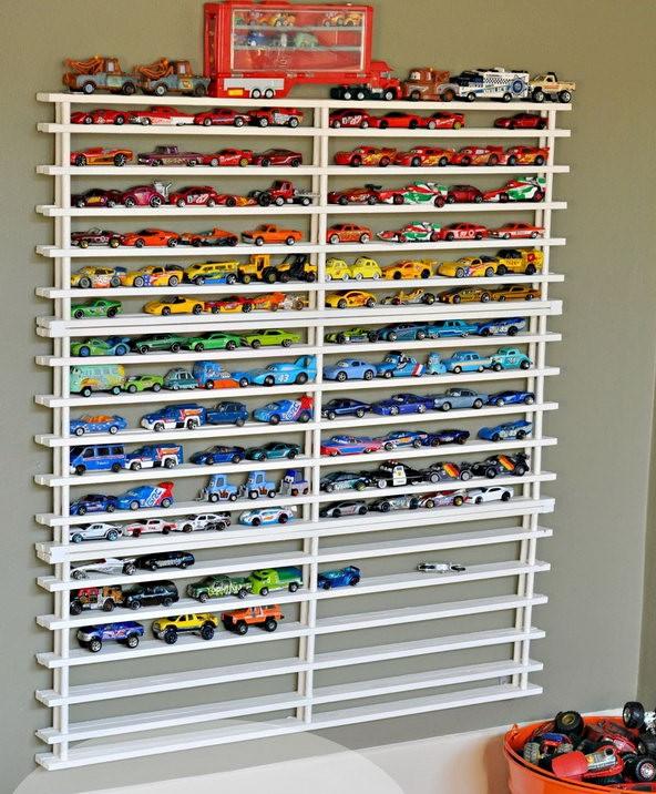 Идеи для хранения детских игрушек фото 5