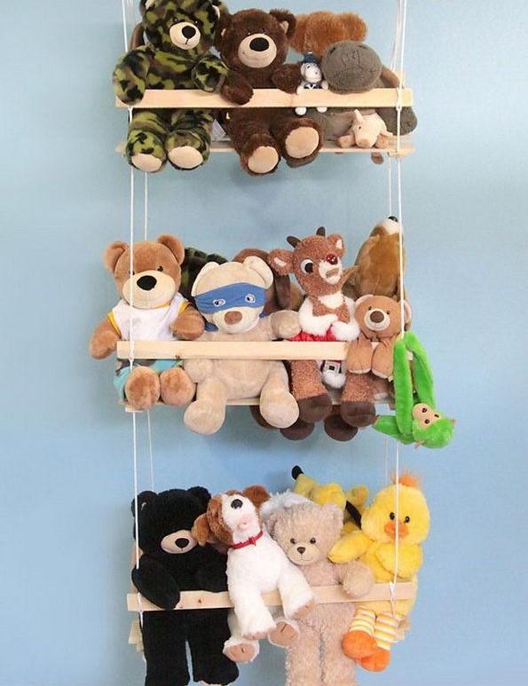 Идеи для хранения детских игрушек фото 3