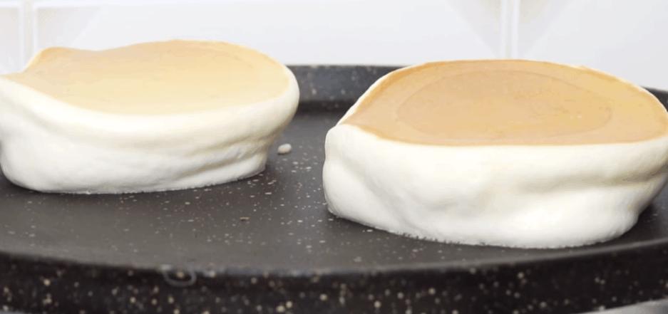 выпечка с эффектом суфле на обычной сковороде