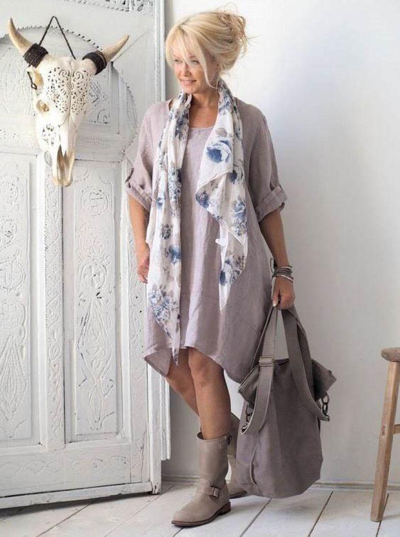 осенний бохо стиль для женщин 40-50 лет фото 2
