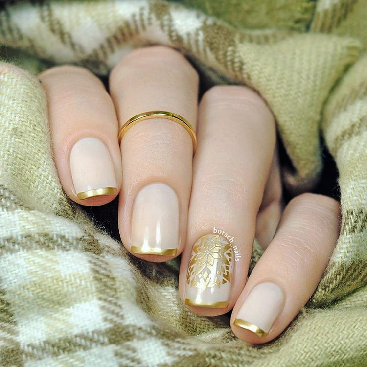 золотой френч фото 5