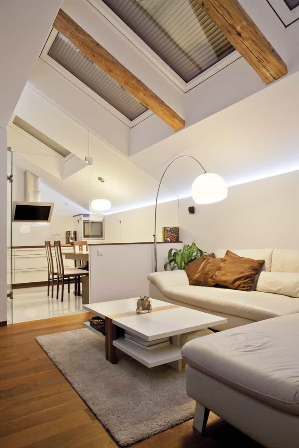 Идеи дизайна спальни на мансарде фото 2