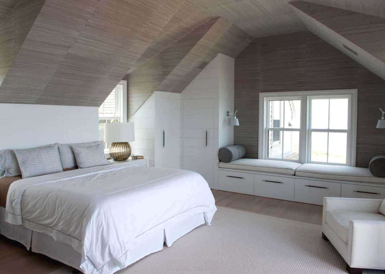Идеи дизайна спальни на мансарде фото 10