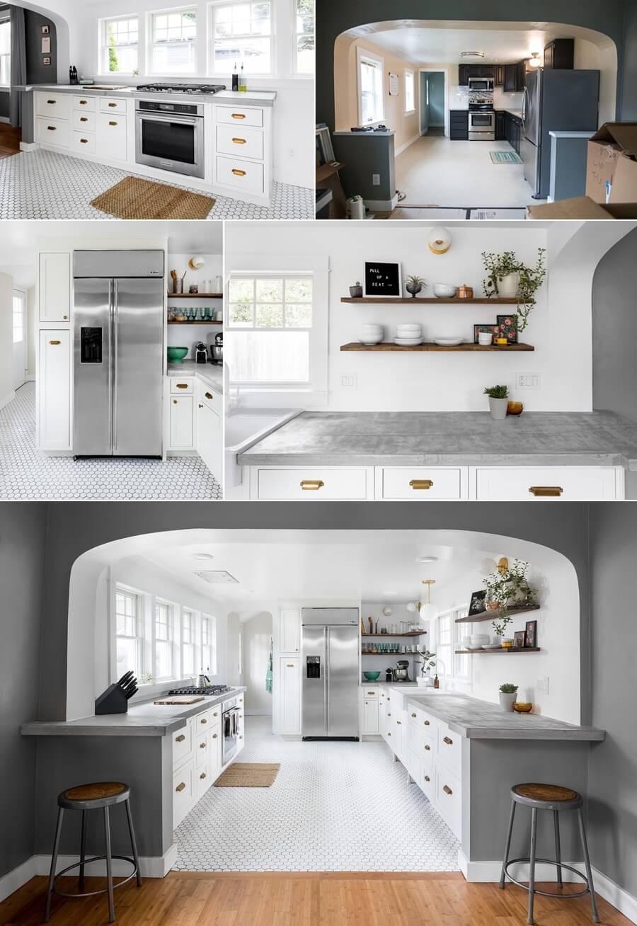 Идеи модернизации пространства на вашей кухне фото 1