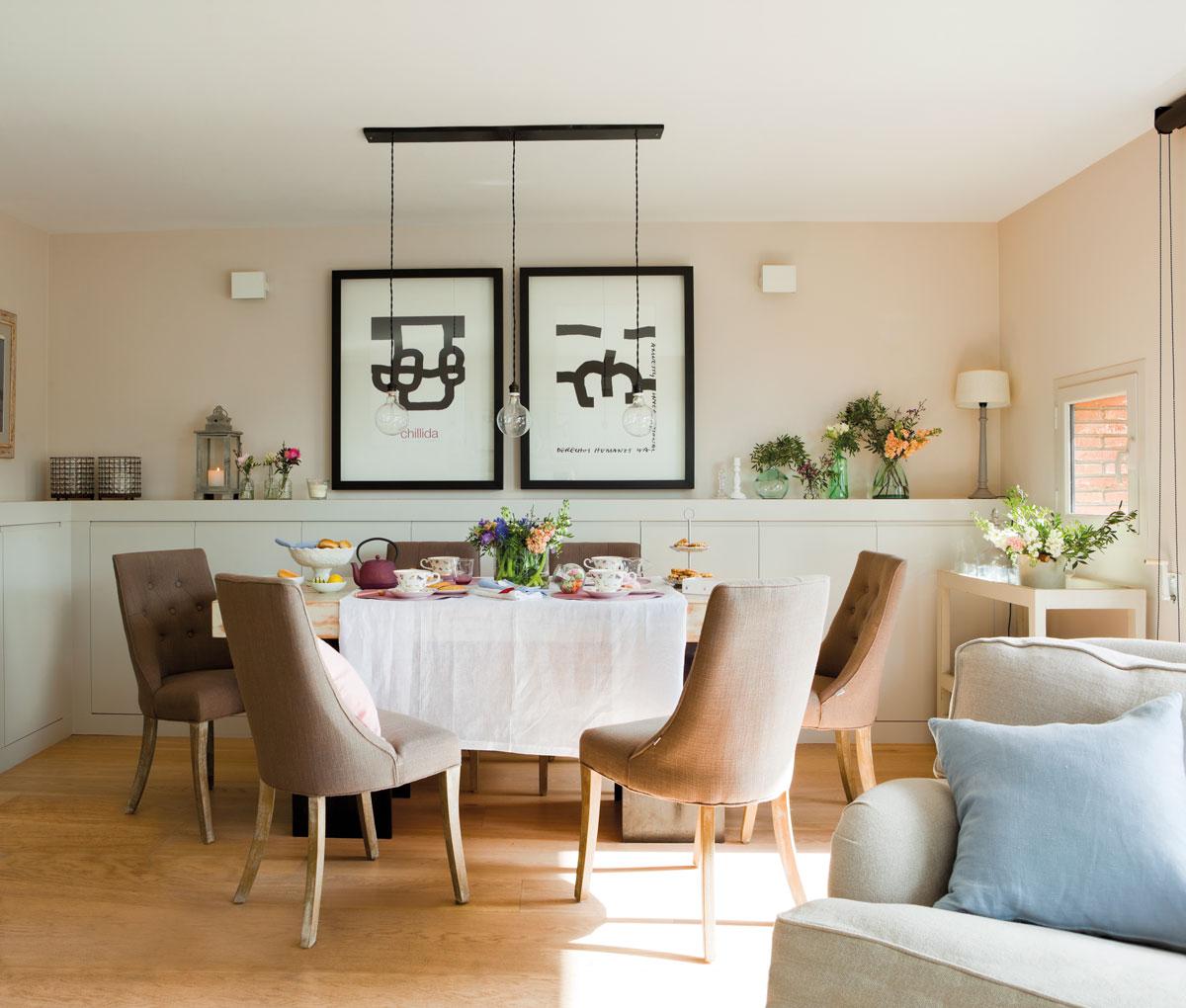 Идеи дизайна интерьера вашей столовой фото 3