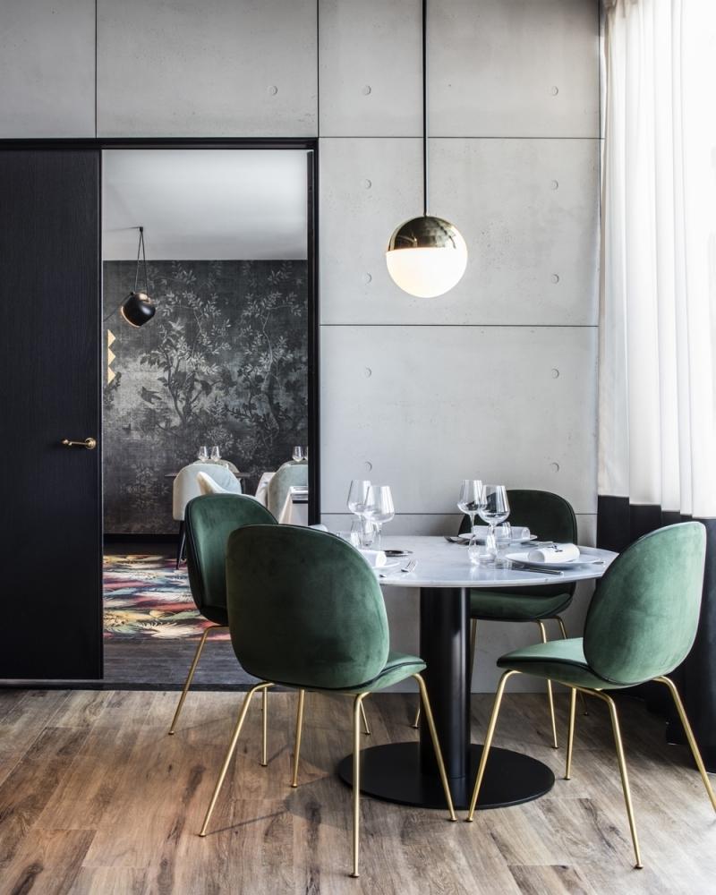 Идеи дизайна интерьера вашей столовой фото 8