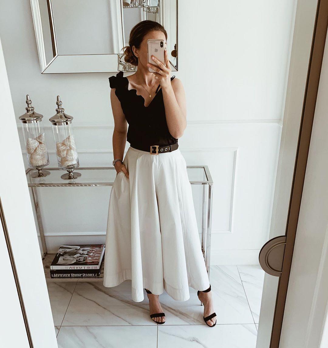 белая юбка 2020 фото 6