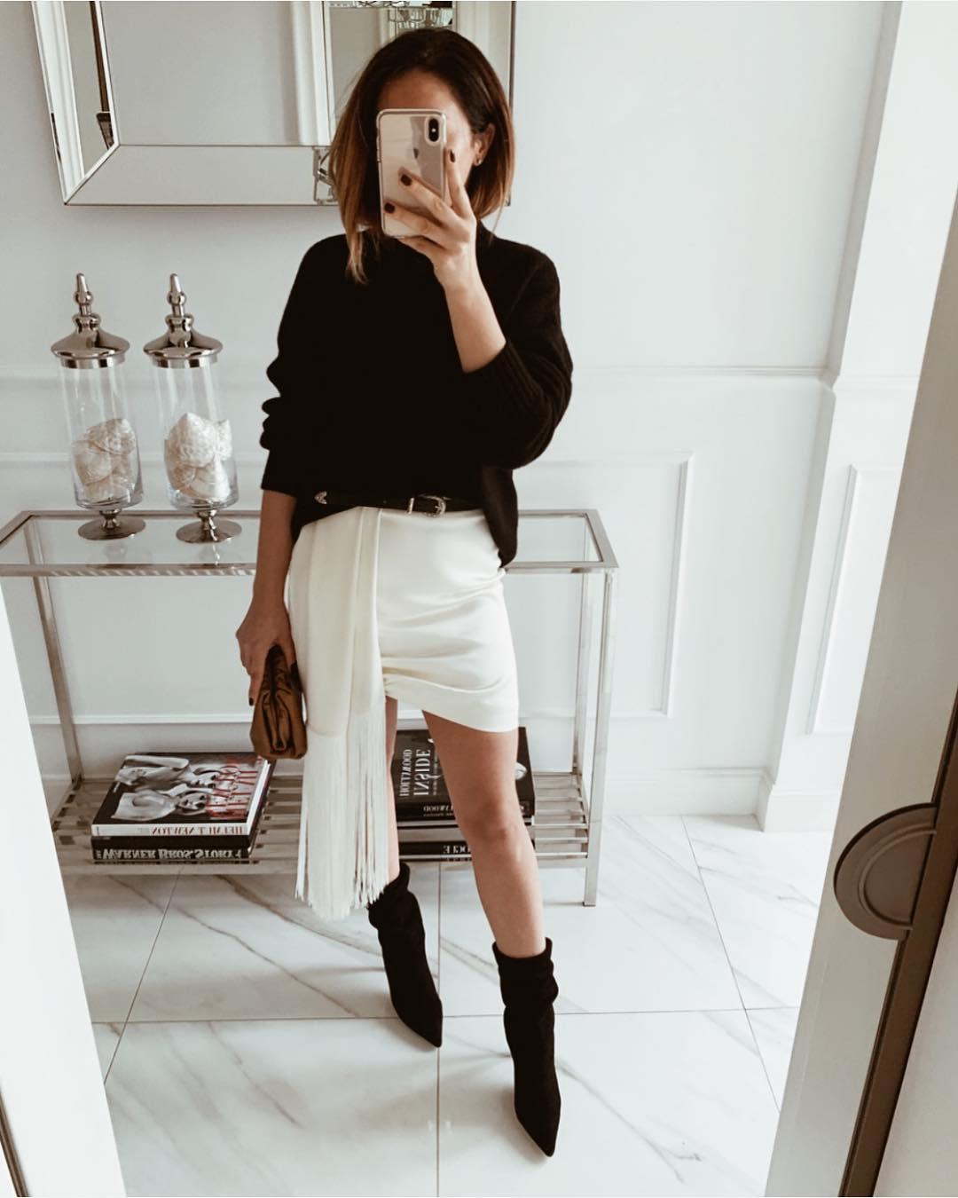 белая юбка 2020 фото 5