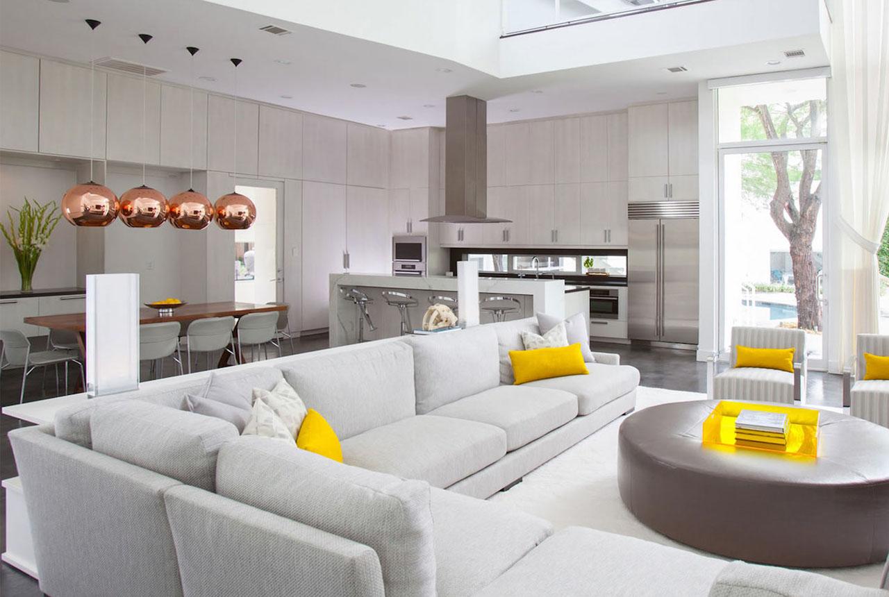 Дизайнерские идеи создания интерьера дома фото 5