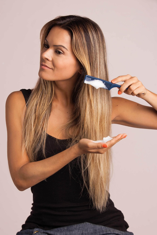 Выпрямление волос без фена и утюжка фото 2