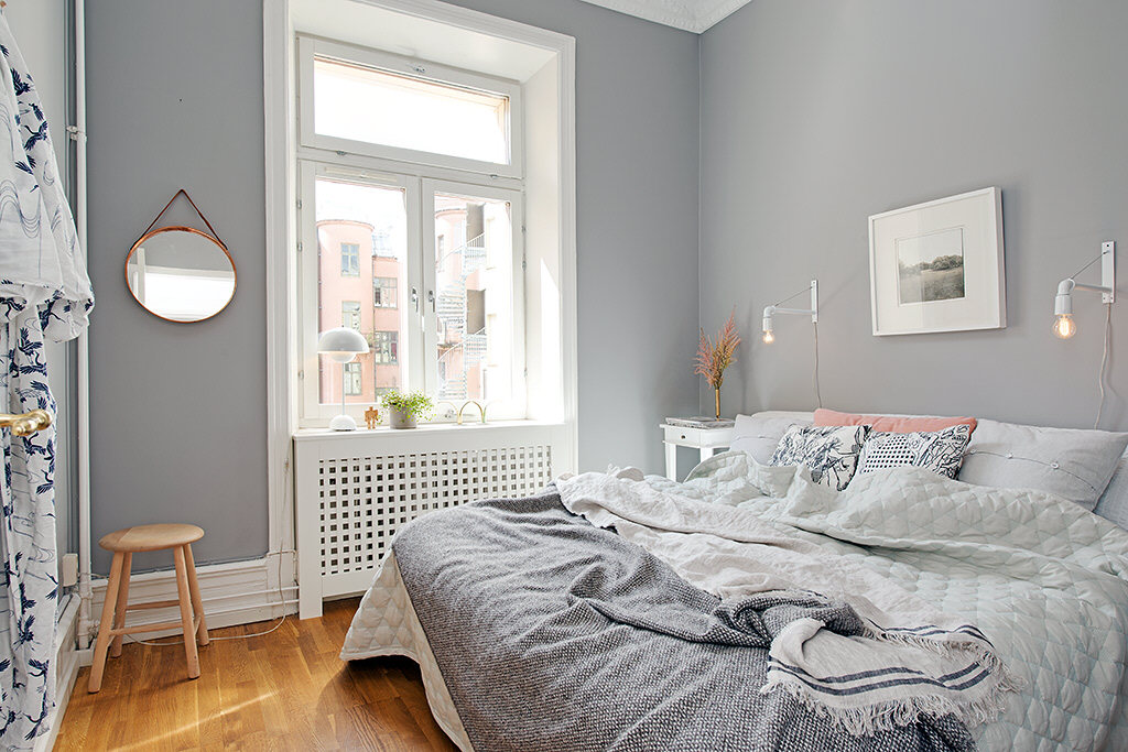 Дизайн интерьера небольшой спальни фото 4