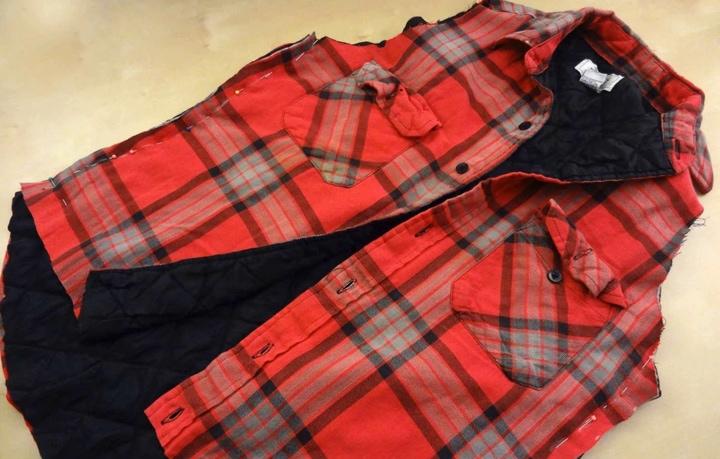 Шикарная переделка простой мужской рубашки