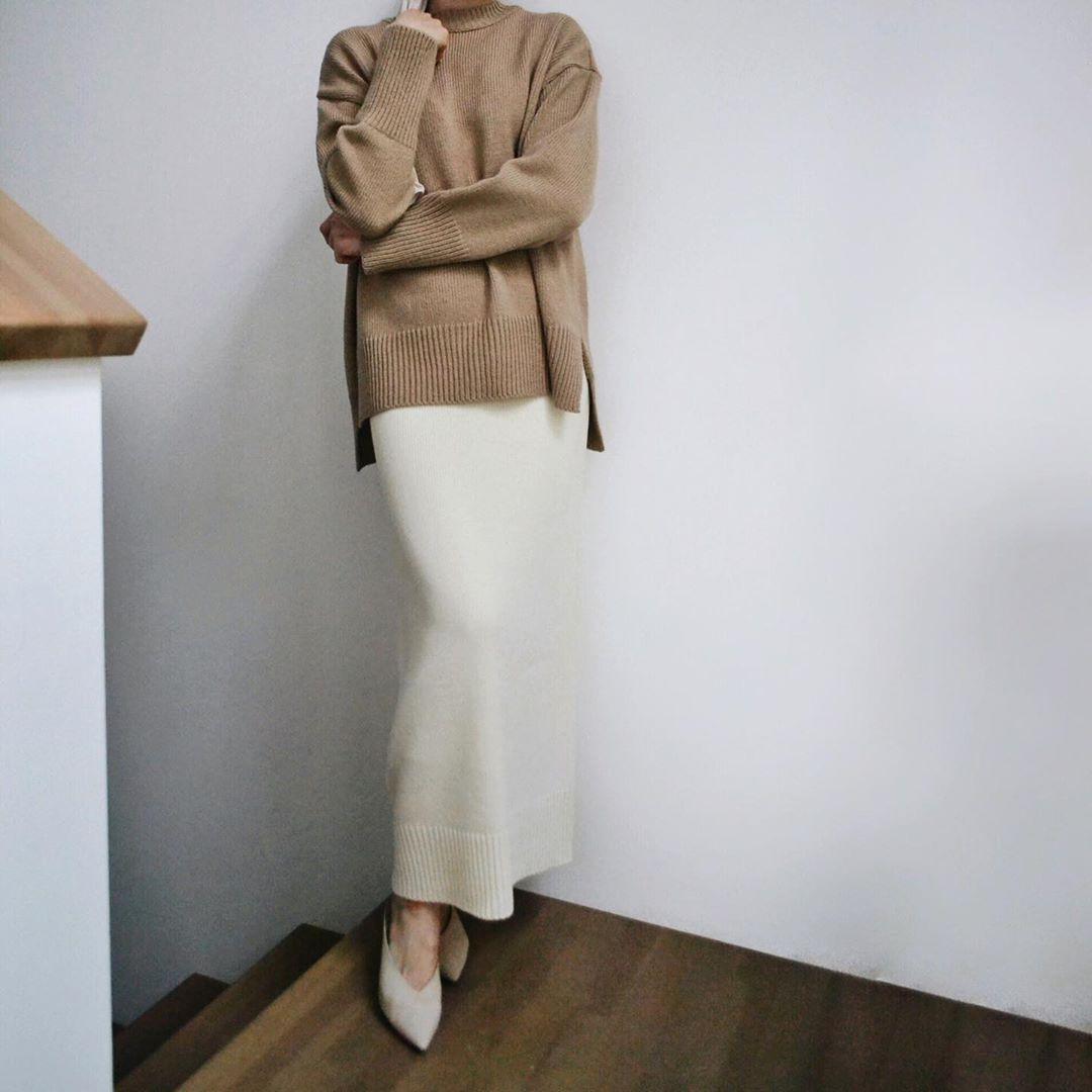 Вязаные юбки 2020 фото 5