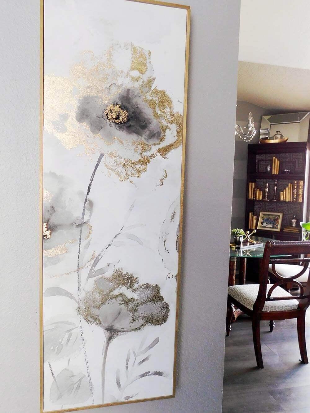 Настенное искусство в вашей гостиной фото 4