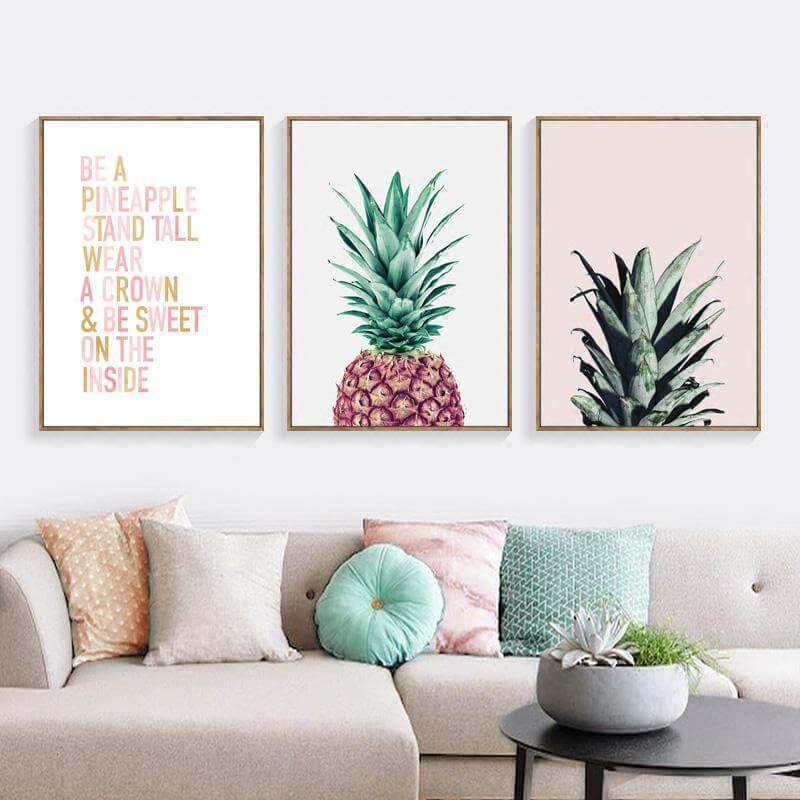 Настенное искусство в вашей гостиной фото 7