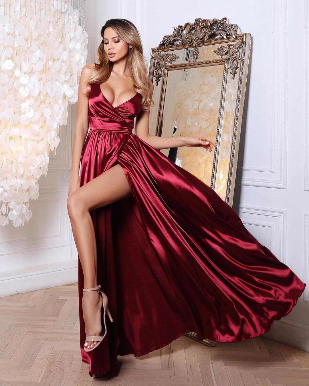 платье с запахом фото 3